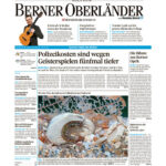 Artikel über das Tier des Jahres 2021 im Berner Oberländer